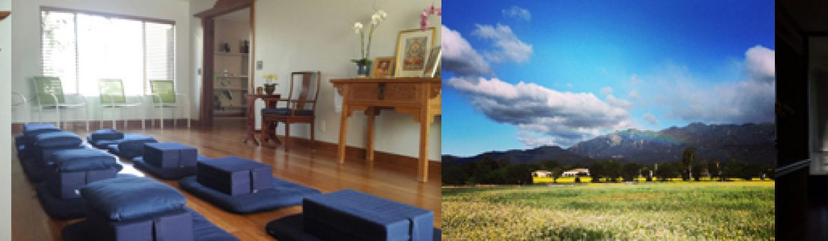 January 9-11, 2015: New Year, New You ~ Cleanse and Visioning Retreat in Ojai